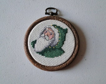 Victorian Santa Ornament