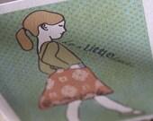 Do A Little Dance Blank Cards