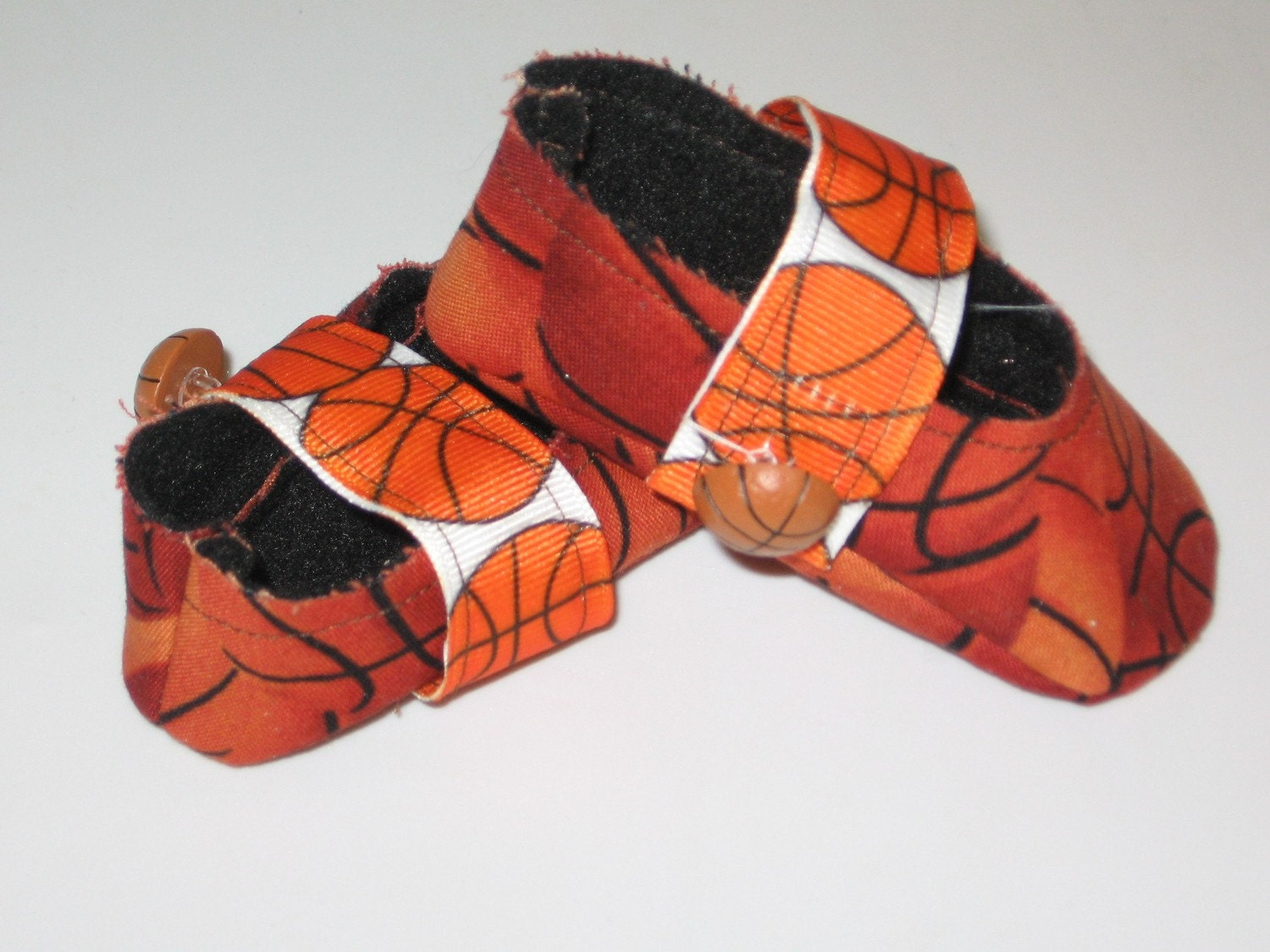 newborn fabric baby shoes basketball