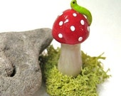 Little Mushroom, Toadstool,  for Planters and Terrariums