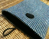 Kindle Fire eReader Nook Sony Sleeve Pouch Bag Clutch Black Blue White Tweed