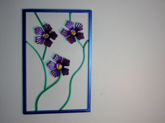 Decorative Steel Floral wall Panel