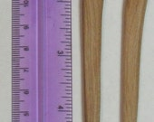 """Clearance Madrone Wood Hair Fork.  L 5-3/4"""" x W 1-1/4"""""""