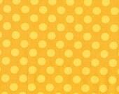 1/2 Yard Ta Dot in Mustard by Michael Miller Polka Dot
