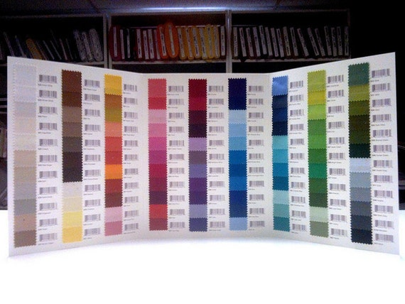 NEW Free Spirit Solids Color Card 100 Swatches
