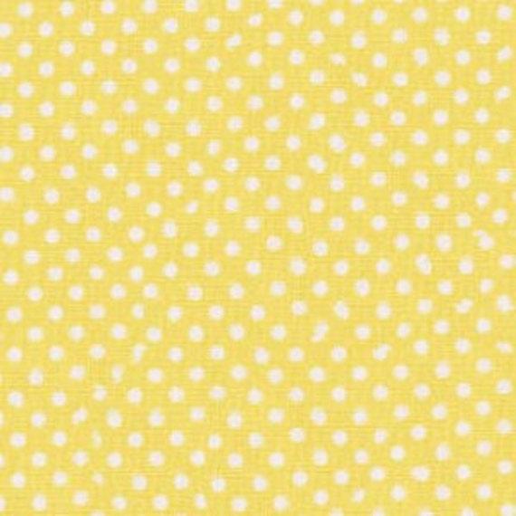 1/2 Yard Timeless Treasures Basics Dots in Yellow