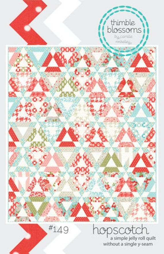 Hopscotch Quilt Pattern By Camille Roskelley For Thimble