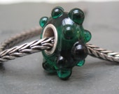 Evergreen Silver Cored Bracelet Bead by Kaz Baildon - fits Pandora, Troll etc.