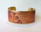Frazetta John Carter of Mars and Princess Dejah cuff bracelet