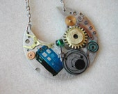 "Doctor Who Necklace ""Regeneration"""