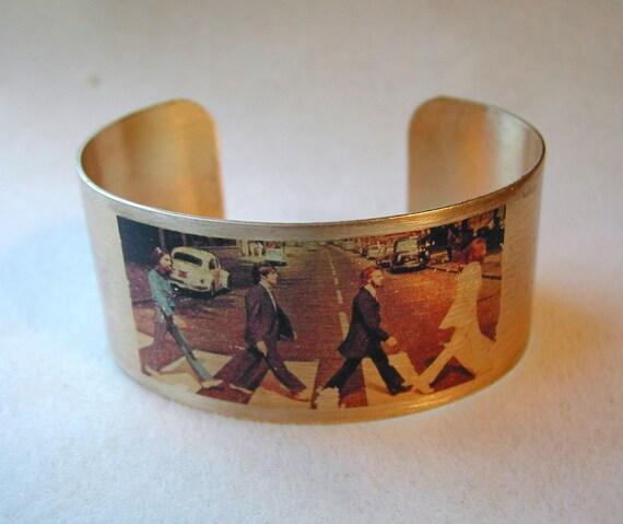 Beatles Abbey Road cuff bracelet
