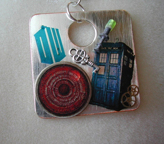 Doctor Who Keychain NOW ON SALE