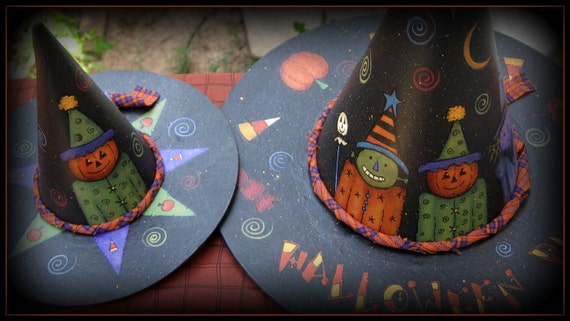 E PATTERN - Witches Hats - FUN - designed by Terrye French, Painted by Me, Sharon B - FAAP