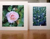 Flower Pair 3 // Pack of 2 Photo Cards // Any occasion