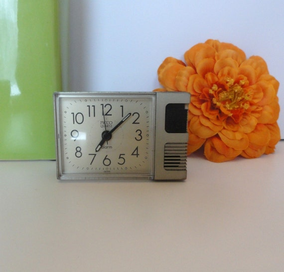 Vintage Alarm Clock Travel size.