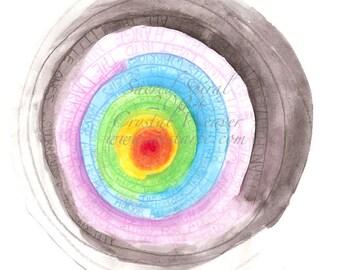 Sacred Spiral Spirit Cards