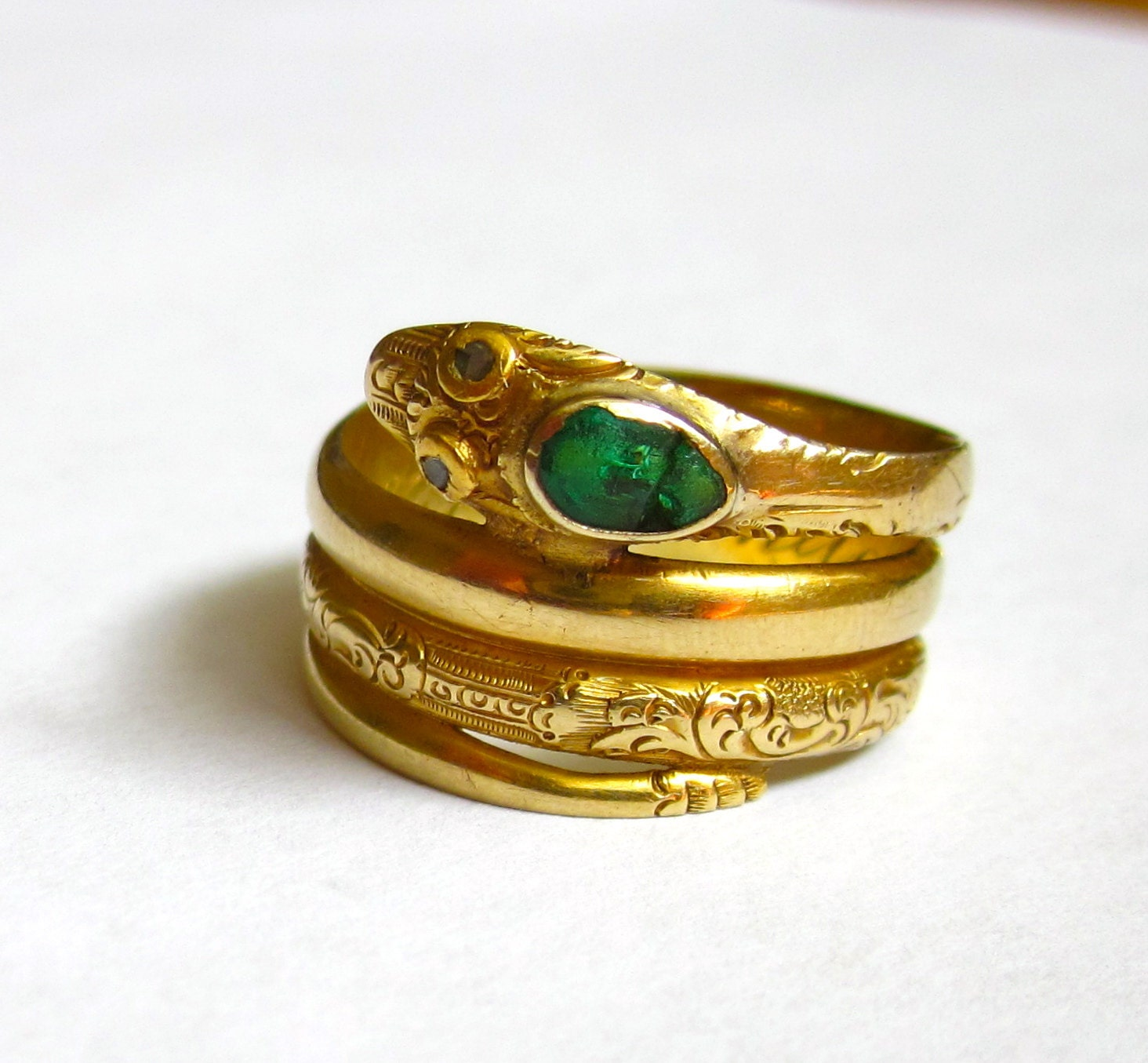 Antique Dated 1850 Victorian Snake Emerald Head And Diamond. 3mm Silver Wedding Rings. 19th Century Engagement Rings. 3mm Engagement Rings. Vampire Rings. Nepali Rings. December Birthstone Rings. Hexagon Shaped Engagement Rings. Crown Band Wedding Rings