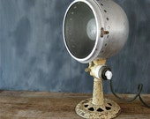 RESERVED   Antique Cast Iron Lamp