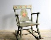 Child's Vintage Rocking Chair