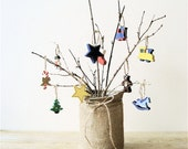 Christmas Vintage Wooden Ornaments