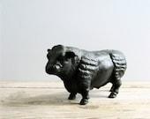 Vintage Cast Iron Bull