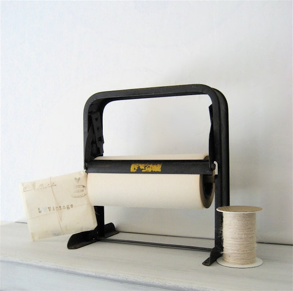 RESERVED Industrial Metal Paper Roll Holder/Cutter