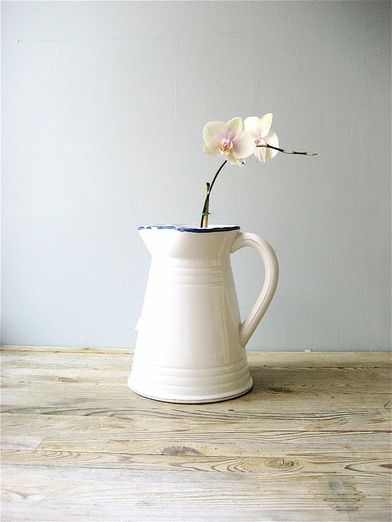 Vintage Italian Ceramic Pitcher