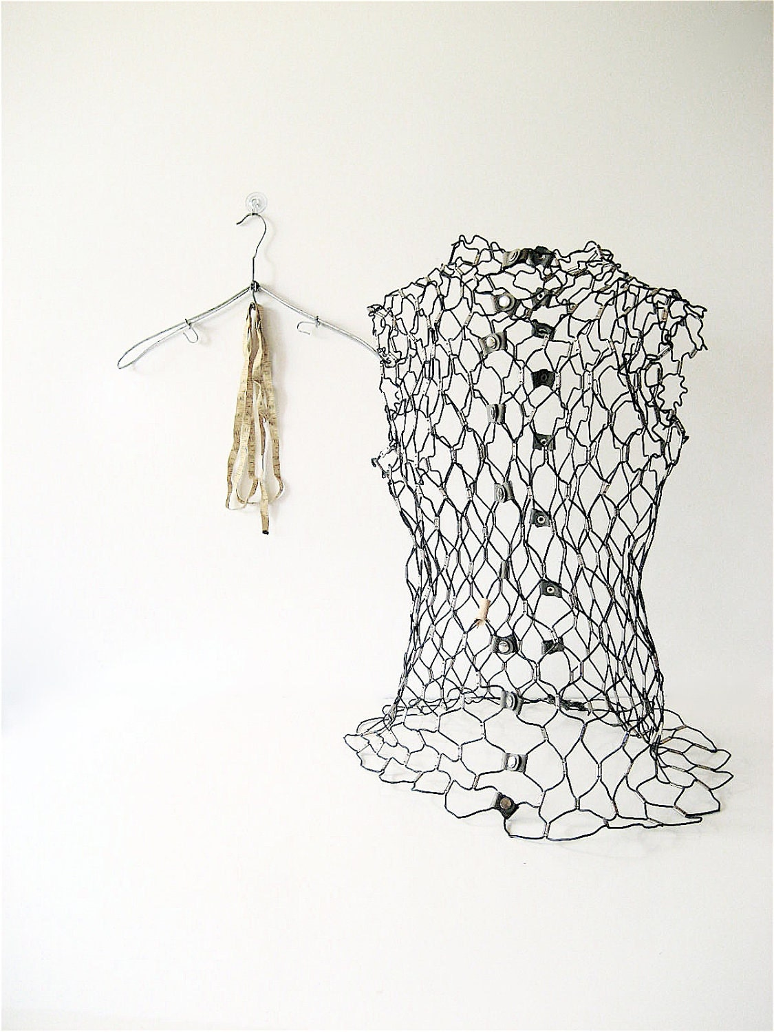Vintage Wire Dress Form
