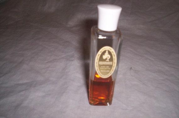 revlon perfume aquamarine 1/2 full