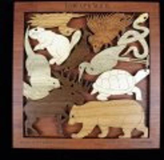 Forever Wild Animals of the Adirondacks Wood Puzle