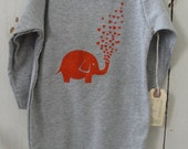 Elephant Love - Infant Long-Sleeve Onesie