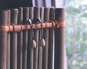Vintage Hawaiian Ivory Pikake Earrings