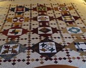 Select Six Queen Quilt Top - reserved for kathleenmalazzo
