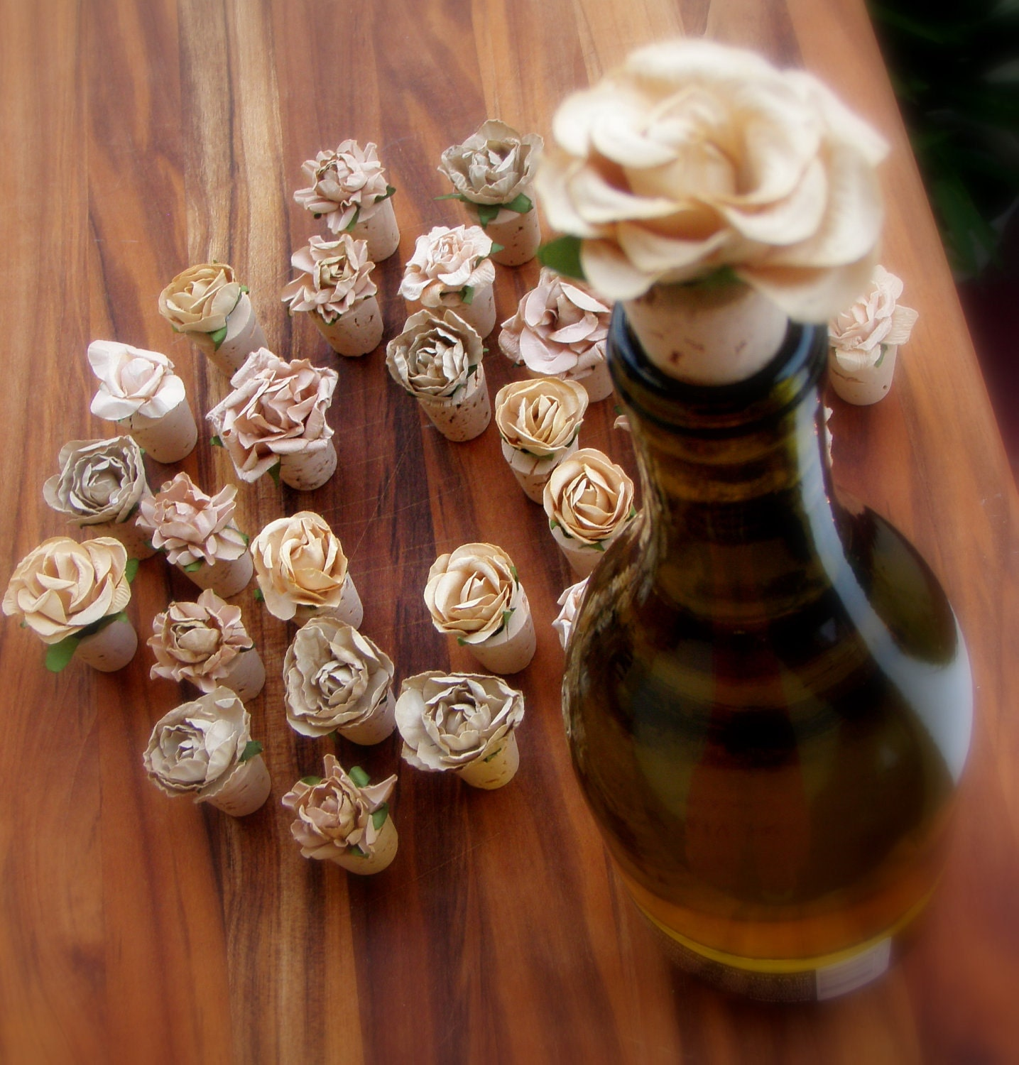 Decorative Wine Bottle Stoppers: Reserved For Janette Decorative Wine Stoppers In