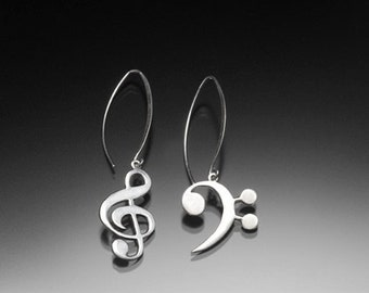 Treble Bass Clef Earrings_058