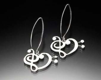 Musical Love Treble Bass Earrings_022