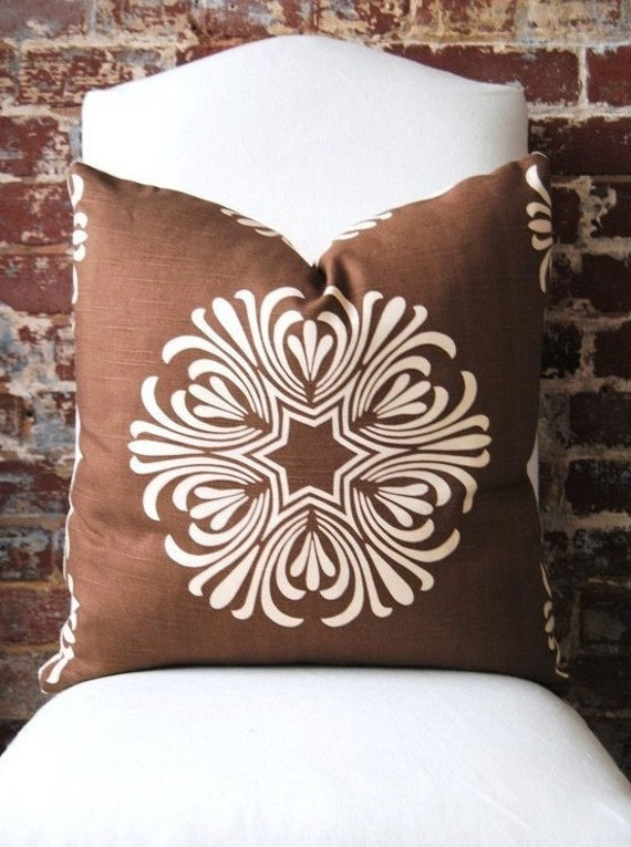 25% Off - Last two - Breckenridge - Duralee - Pillow Cover - 20 in square - Designer Pillow - Decorative Pillow - Throw Pillow