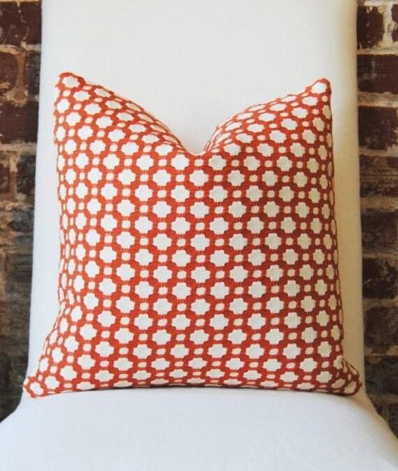 Schumacher -  Betwixt - Spark -  18 in square - Designer Pillow - Decorative Pillow - Throw Pillow