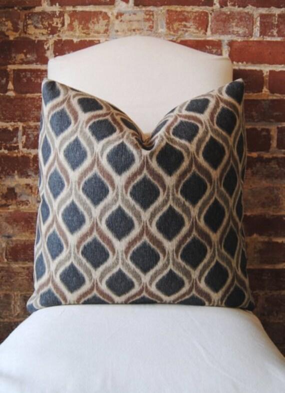 Dark Night - Robert Allen - Pillow Cover - 20 in square - Designer Pillow - Decorative Pillow - Throw Pillow
