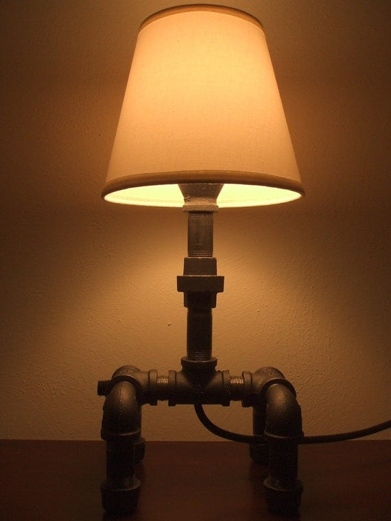 Items Similar To Handmade Industrial Style Iron Pipe Lamp