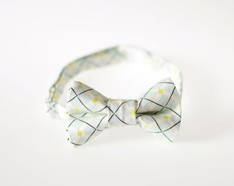 Toddler Bowtie - Light Blue with Black Detail