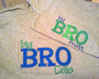 Personalized Big Brother, Little Brother shirt
