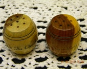 pepper shakers barrel shape Ozarks