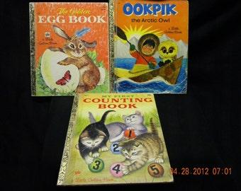 Little Golden Books, 1962 1979 1982, childrens books