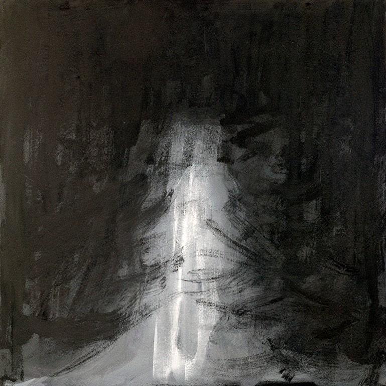 Fine Art Original Painting: Depression