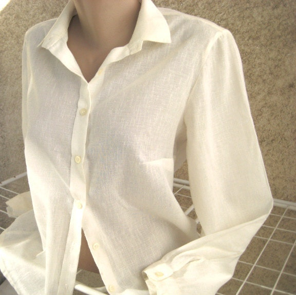 Womens Ivory Blouse 114