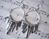 Anthropologie Inspired Wire Dangle Earrings