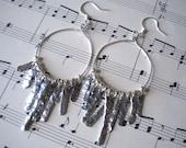 Anthropologie Inspired Wire Dangle Earrings