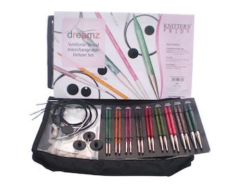Knitters Pride Dreamz Interchangeable Knitting Needle Deluxe Set
