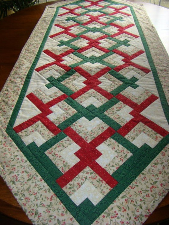 Large Holiday table runner
